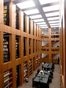 Folkwang Bibliothek von innen